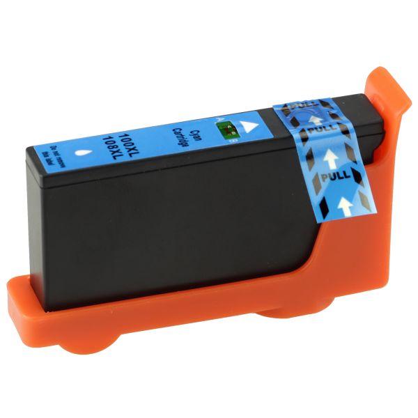 Druckerpatrone kompatibel LK100XLC, cyan