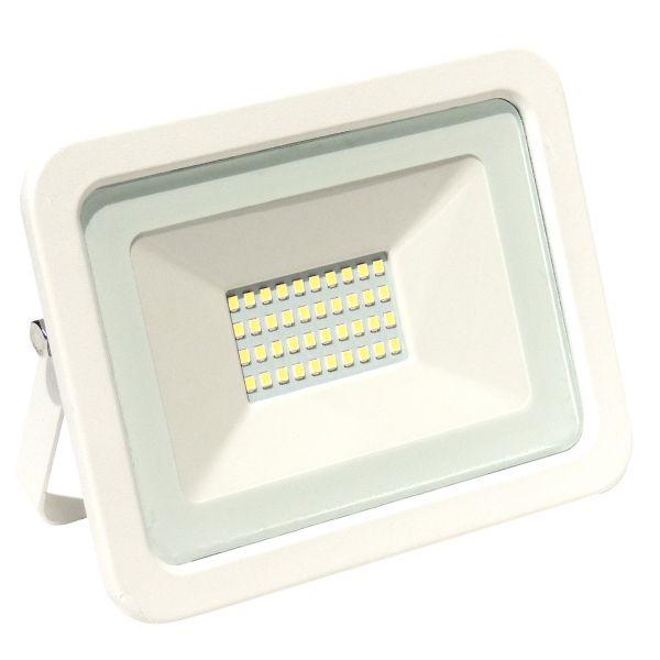 LED Fluter, 30W, 2700lm, kaltweiß, weiß