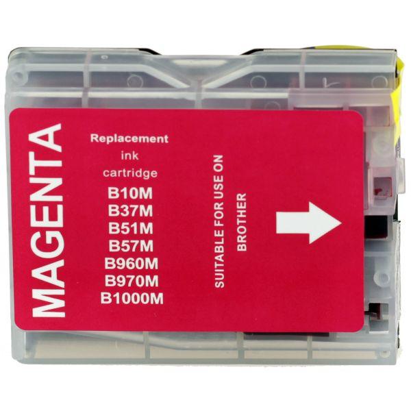 Druckerpatrone für Brother, Typ BK970/1000M, magenta